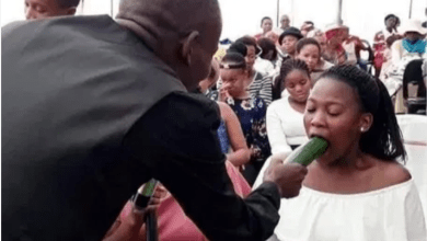 Pastor Teaches Female Members On How They Can Properly Give Their Men Blow Job