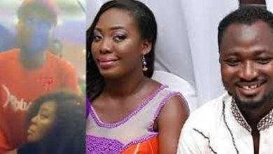 What happened when Funny Face met his ex-wife, Nana Adwoa [Watch]