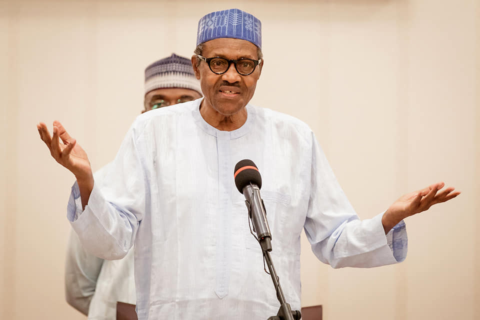 Here's President Buhari's full speech as he addressed Nigerians on End SARS protests