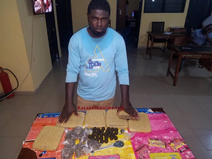 Journalist arrested for unlawful possession of narcotics