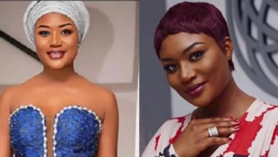Sandra Ankobiah gives free show as she puts her heavy chest on display