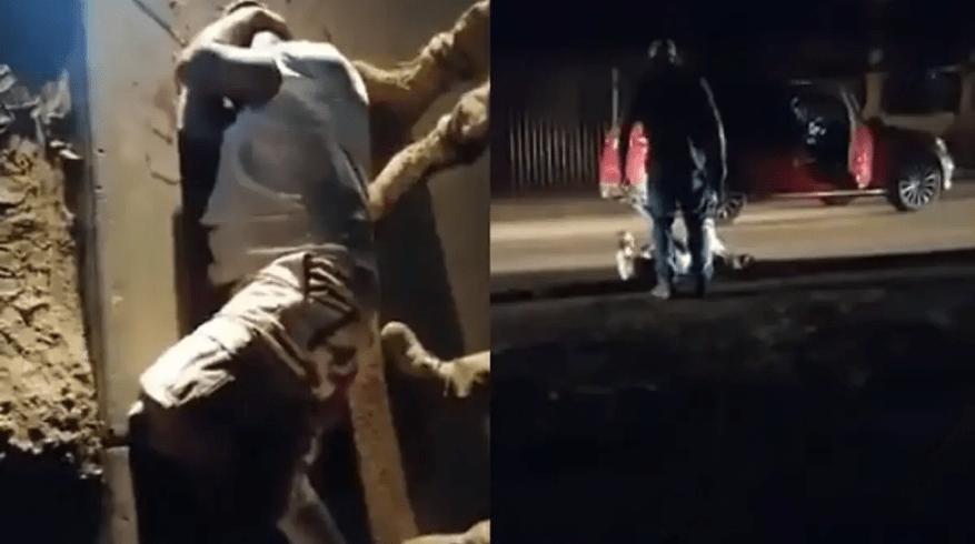 Husband catches wife's boyfriend, shoots him twice