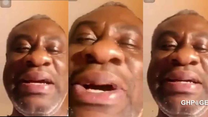 I can't sleep please come back to me – Old man cries over a broken heart