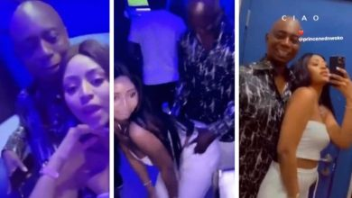 Regina Daniels twerks for her husband Ned Nwoko as they hit the club