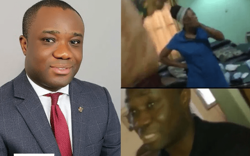 Woman Who Caught Felix Ofosu Kwakye In Bed With Another Lady , Top Politician Busted In the Bedroom of Some Ones Girlfriend Doing It