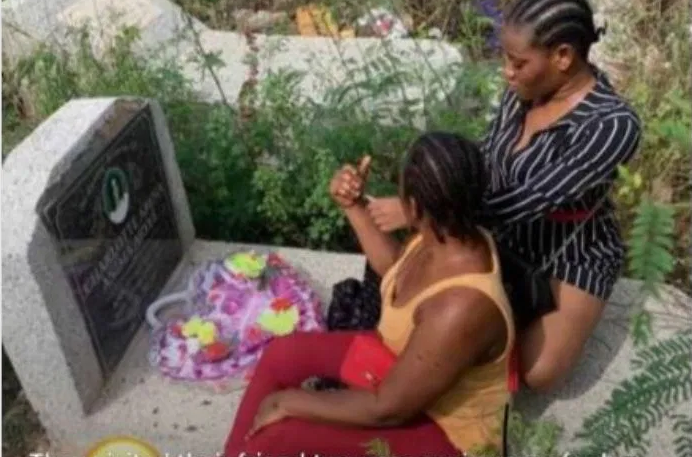 Ghanaian Slay Queen Mysteriously Dies After Visiting the Grave of a Late Friend – Photos