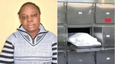 Woman who cooks with mortuary water to attract customers caught and arrested