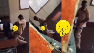 Students Caught On Camera Bonking In The Classroom During Break Time