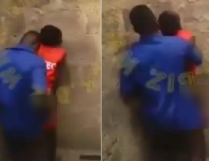 Two Students Caught Banging Themselves In An Uncompleted Building