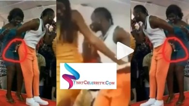 Diamond Platnumz breaks the internet again, caught live on camera tickling Female Fan's PUSSY in South Sudan