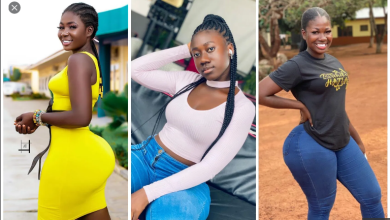 Meet Abena Cilla, The Lady Who Has Successfully Dethroned Hajia Bintu With Her Big Backside (+PHOTOS)