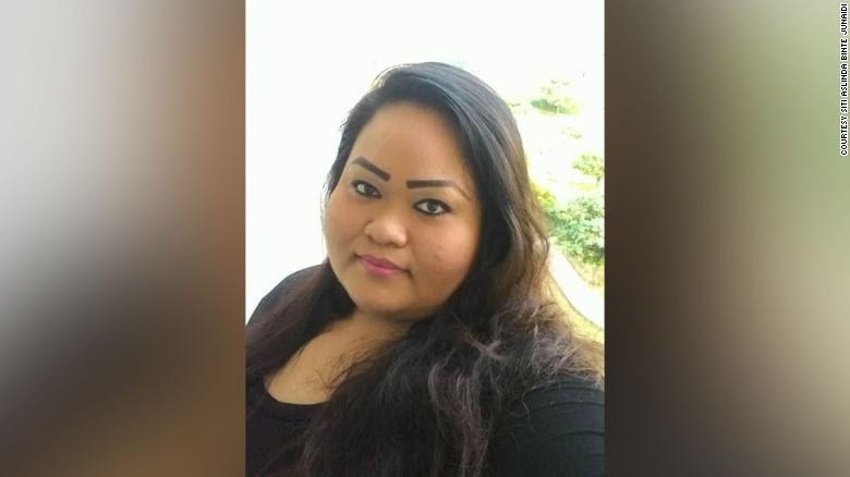 Singaporean woman, Siti Aslinda Binte Junaidi