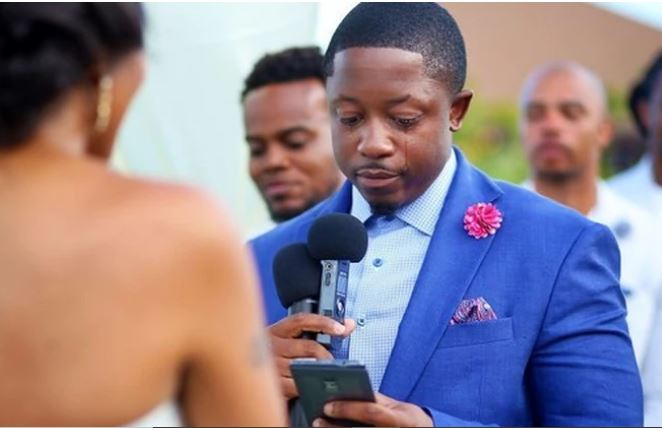 Reasons why grooms cry at wedding ceremonies