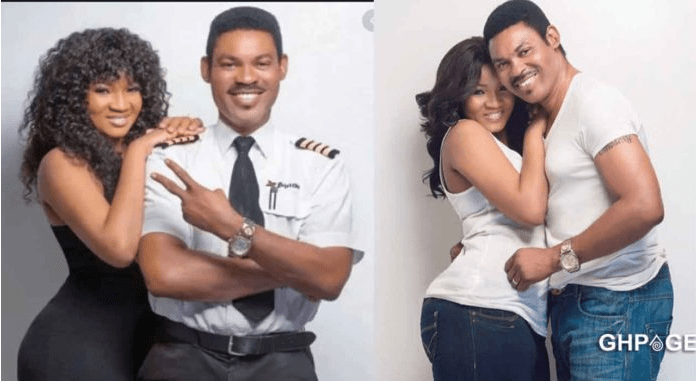 Actress Omotola's husband allegedly chopping a younger side chick pussy