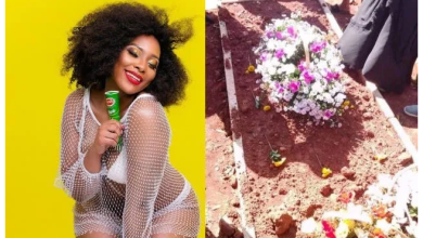Moana's sister Tatts shares touching pics of the late model's grave