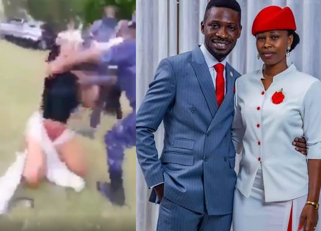Bobi Wine's wife 'tortured and stripped naked
