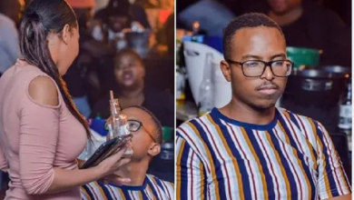 When you blow rent money with her then she says she's going home because she's on period -Photos