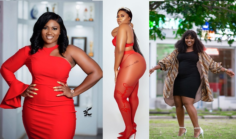Abena Korkor Cause Uncontrollable Volcanic Eruption In Men's Pants As She Goes naked
