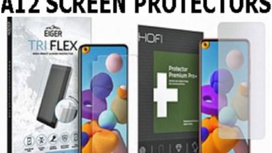 Eiger Tri Flex High Impact Film (1 Pack) for Galaxy A12
