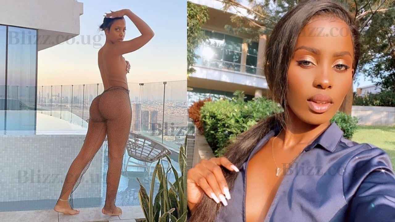 Leila Kayondo's Sister Katrina Nilzero Sets a Thirst Trap, Leaves Men with Horns