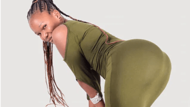 This slay queen seems to be hustling for rent – See how she advertised her goodies online (PHOTOs)