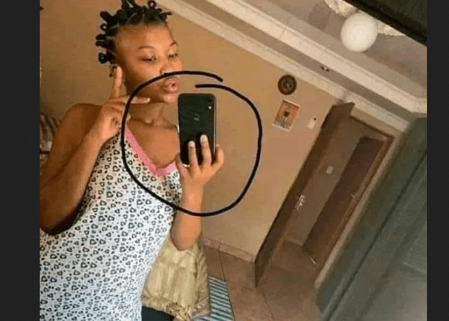 Selfie goes wrong as unhygienic slay queen exposes dirty pantie – This is a very dirty LADY (PHOTO)