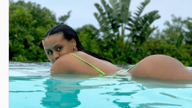 Cassper Nyovest wife's booty leaves men drooling