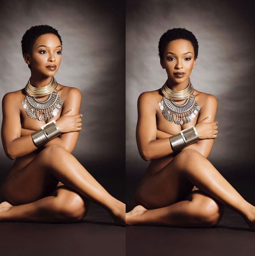 Pictures: Nandi Madida Sets Social Media Ablaze With Nudes