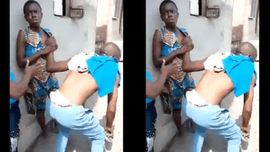 16-year-old girl reportedly fights husband taking care of her and the 4 children she had from a previous romantic affair after he caught her cheating (video)