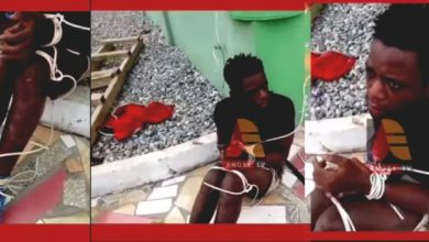 17-years-old robber gets his ear chopped off and tied with wire for stealing