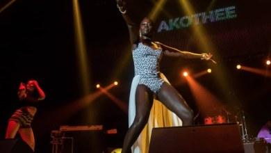 Kenyan music star, Akothee