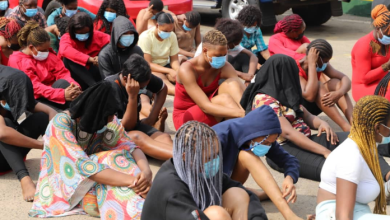Police command arrests and parades 113 aimless Slay queens and their yahoo yahoo boyfriends