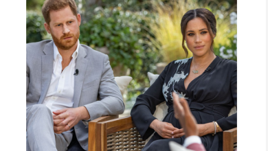 Meghan Markle reacts to reports she made Kate Middleton cry days to her wedding as Prince Harry reveals his family cut him off