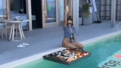 Videos from Temi Otedola's birthday getaway with Mr Eazi