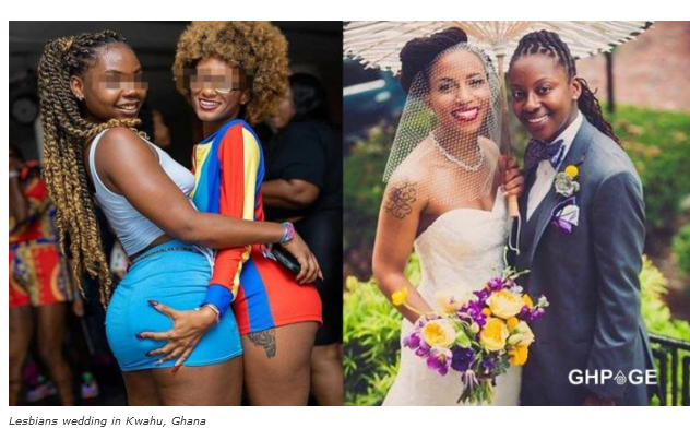 Lesbians who gathered to hold a wedding ceremony in Kwahu Obomeng arrested