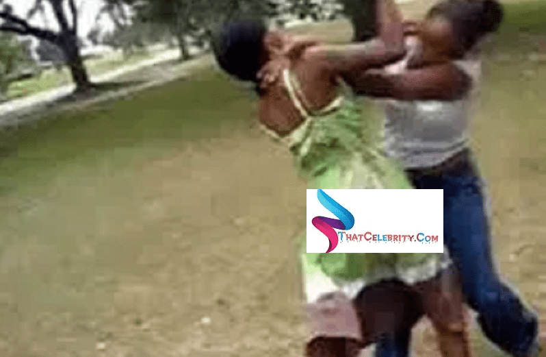 21 year old Girl beats Father's Girlfriend Ms Agatha aged 57years For Squandering His Money