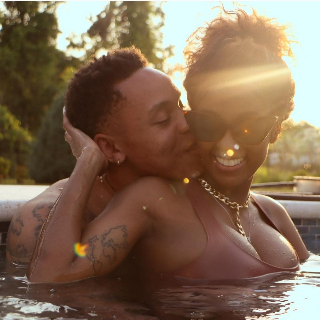 Power star, Rotimi, and singer Vanessa Mdee share steamy photo