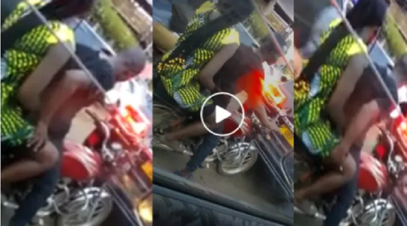 Okada Guy Caught Live On Camera Touching And Caressing Client's Thighs
