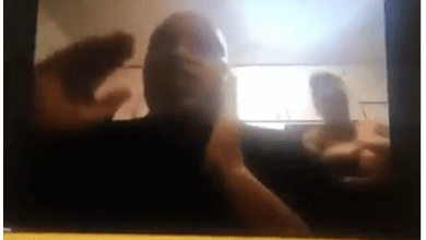 Drama as Chief Xolile Ndevu's wife appears naked on his virtual parliament meeting: Video