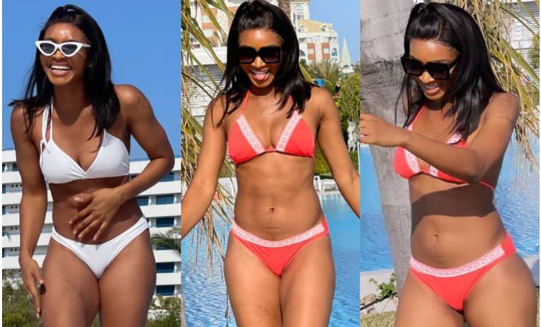 Comedienne, Wofaifada, flaunts her hot bod in sexy bikini photos