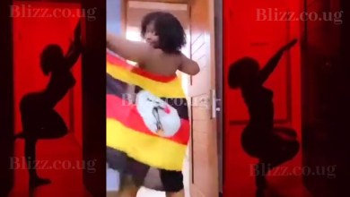 Winnie Nwagi Dances Completely Naked For the Silhouette Challenge