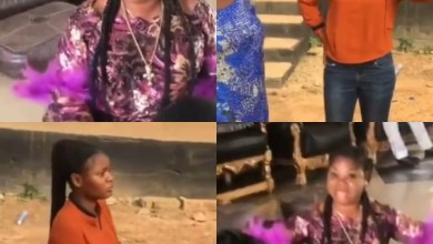 student tenders an unreserved apology to a top food seller in Ago-Iwoye who she accused on social media of cooking with water used to bath corpses (videos)