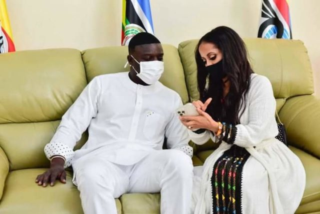 Akon Rushes Out of Uganda After Son Contracting Covid-19, Leaves Wife Behind