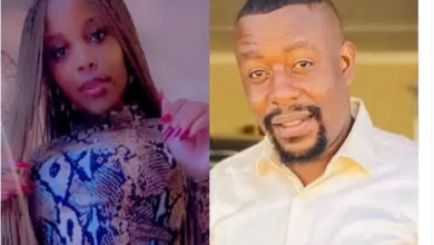 Slay Queen Njuzu and boyfriend Hell Commander In Nasty Bedroom Fight