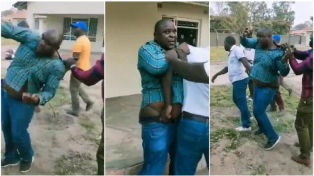 Man Caught Bedding Best Friend's Wife In Viral Video