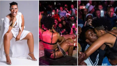 Video of Zodwa Wabantu being 'Fingered' by male fans causes outrage