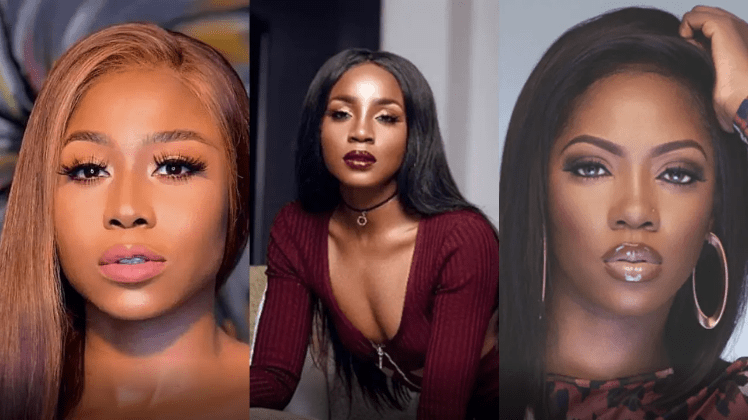 'Beefing someone that is bigger than you' – Actress, Lilian Afegbai drags Seyi Shay amidst fight with Tiwa Savage