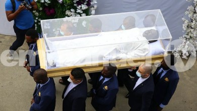 TB Joshua's Unique Coffin