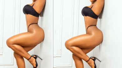 Ifuennada strips to her underwear in new sultry photos; says she's now born again