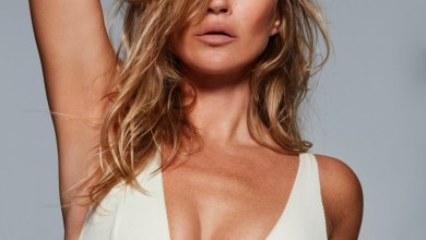 Kate Moss Strips Down for SKIMS Campaign